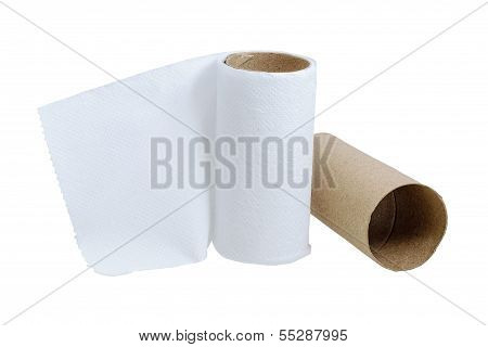 Toilet Paper Little Leftover