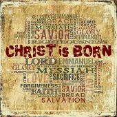foto of gospel  - Religious Words on Grunge Background