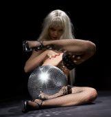 Dark Glitterball Dance poster