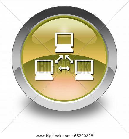 Icon, Button, Pictogram Network