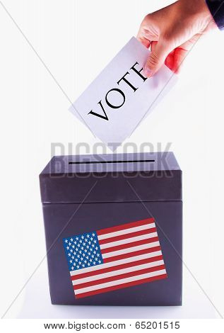 Us Urn For Vote