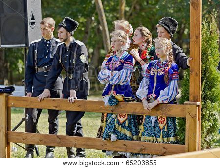 Cossack Folklore Ensemble.