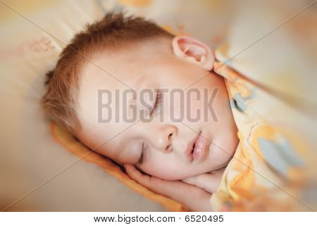 Photo Of The Pacified Sleeping Child