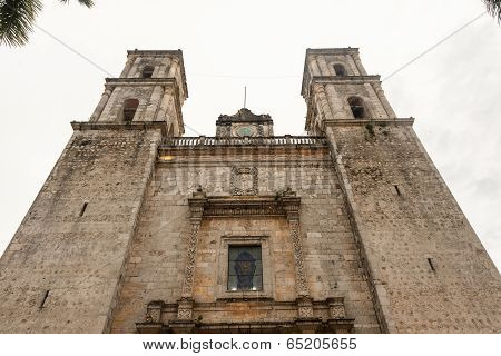 Cathedral Of San Gervasio, Valladolid, Yucatan, Mexico