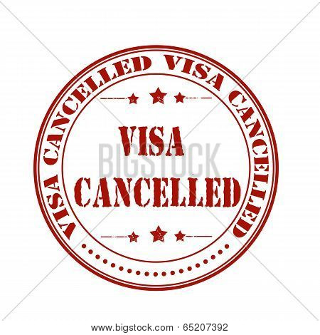 Visa Cancelled Stamp