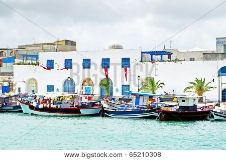 Resort Town Bizerte In Tunisia, Africa