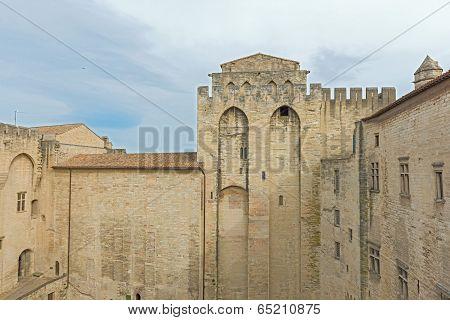 France Provence Midi Avignon Papal Palace Palais Des Papes
