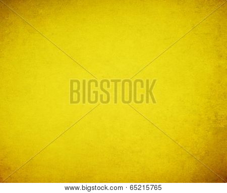Grunge Yellow Background.