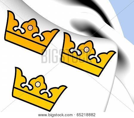 National Emblem Of Sweden