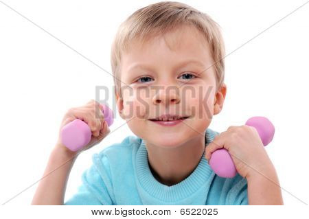 Sportive Child
