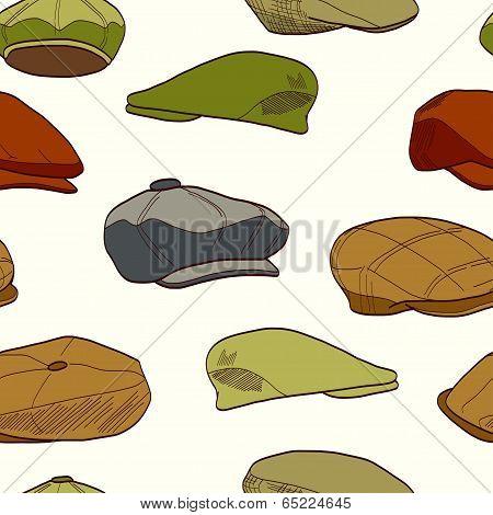 Tweed caps pattern