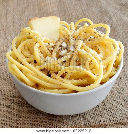 Bucatini Pecorino Cheese
