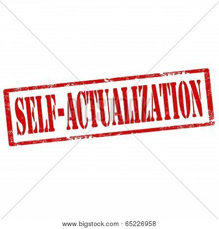 Self-actualization-stamp