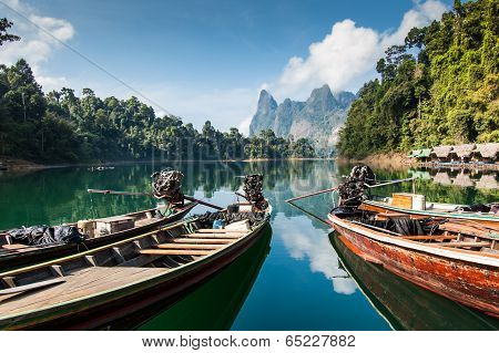 Long-tail Boats, Khao Sok National Park