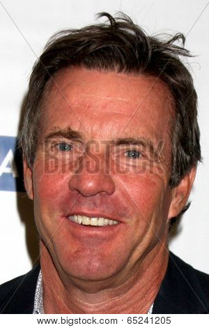 LOS ANGELES - MAY 16:  Dennis Quaid at the UCLA's Spring Sing 2014 at Pauley Pavilion UCLA on May 16, 2014 in Westwood, CA