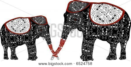 Ethnic Elephants