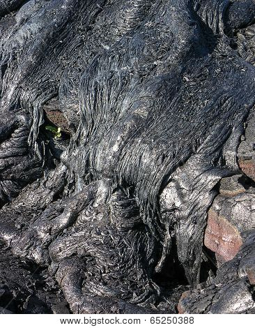 Lava Frozen In Time