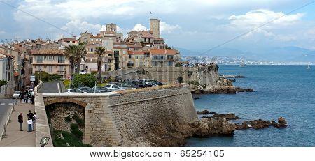 Antibes - Cityscape And Mediterranean Coast