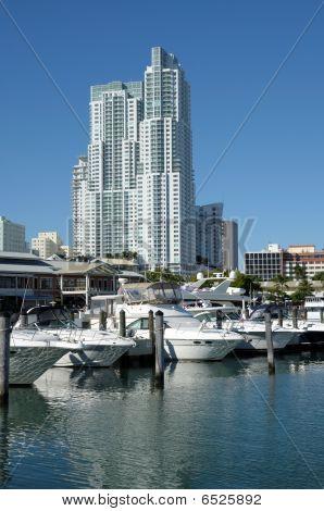 Marina Bayside de Miami, Flórida