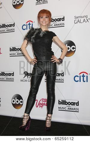 LAS VEGAS - MAY 18:  Lindsey Stirling at the 2014 Billboard Awards at MGM Grand Garden Arena on May 18, 2014 in Las Vegas, NV