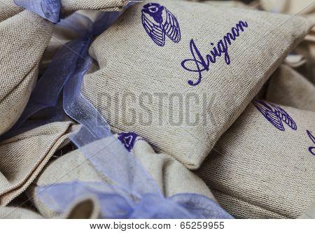 Avignon Souvenirs - Little Sacks With Lavender