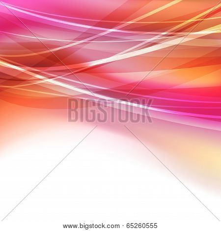 Abstract Bright Transparent Lines Background