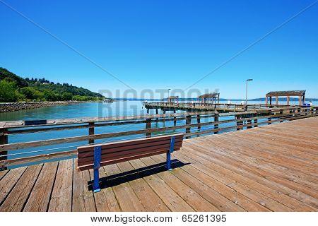 Tacoma, Pier View. Wa