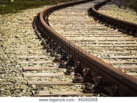 Turn Old Rail Track