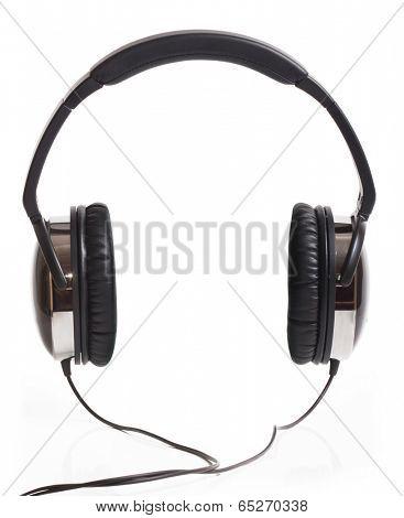 Headphones isolated on white background