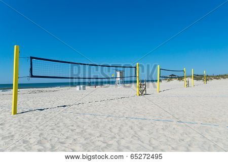Beach volleyball nets