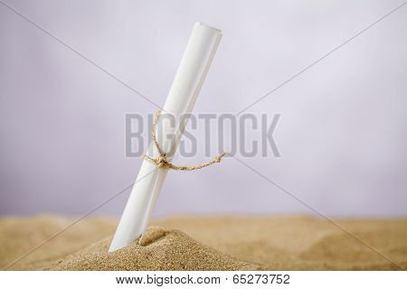 Message In The Sand
