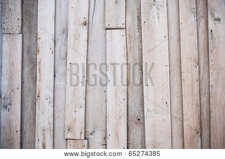 Wood Texture With Cracked Paint