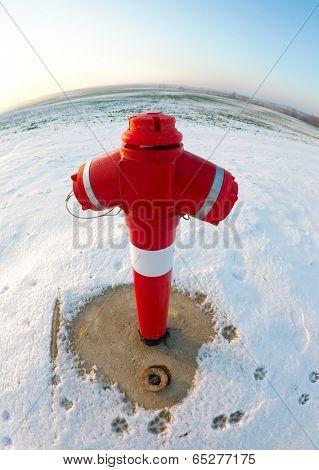 Hydrant in Winter