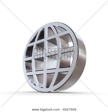 Shiny Abstract Globe
