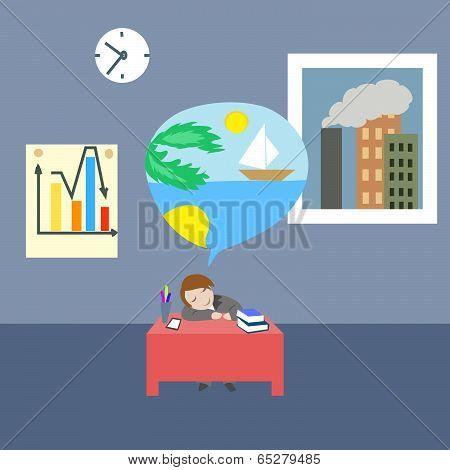 Dreaming  Clerk