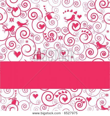 Vector Greeting Card Or Invitation For Parties, Weddings, Showers