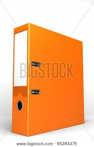 ring binder orange