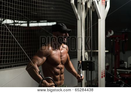 Cable Crossover Chest Workout