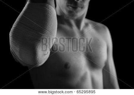 Bandaged Elbow Joint