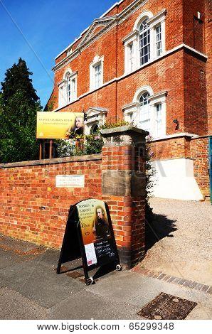 Erasmus Darwins House, Lichfield, UK.