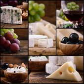 stock photo of brie cheese  - Restaurant series - JPG