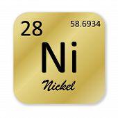 Постер, плакат: Nickel element
