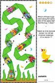 picture of crawling  - Visual puzzle to reinforce spatial abilities of the mind - JPG