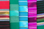 stock photo of loincloth  - Thai Style Loincloth using for background texture - JPG