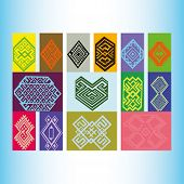 pic of tatar  - Tatar ornament motif  - JPG