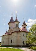 picture of suceava  - View of Slatioara Monastery in Bucovina - JPG