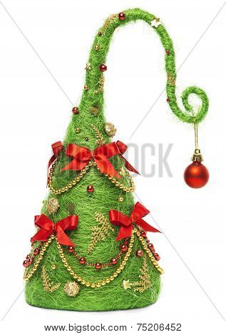 Christmas Elf Hat For Baby Or Little Kid, Creative Child Costume Decoration As Xmas Tree