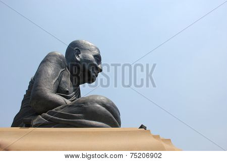 Statues Of Buddhist Monks