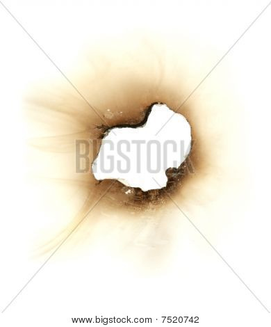 Burn Hole In A Piece Of Paper