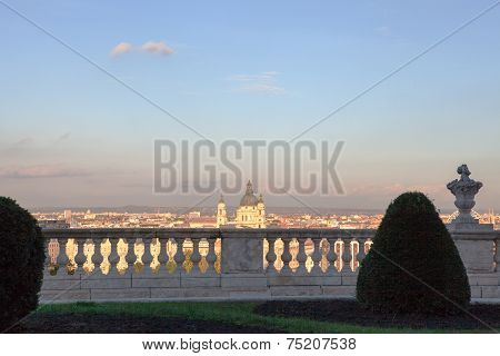 Budapest City seen from the Castle